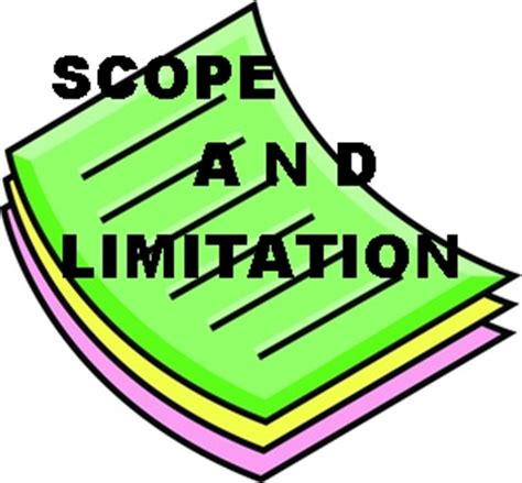 Scope of work in research proposal